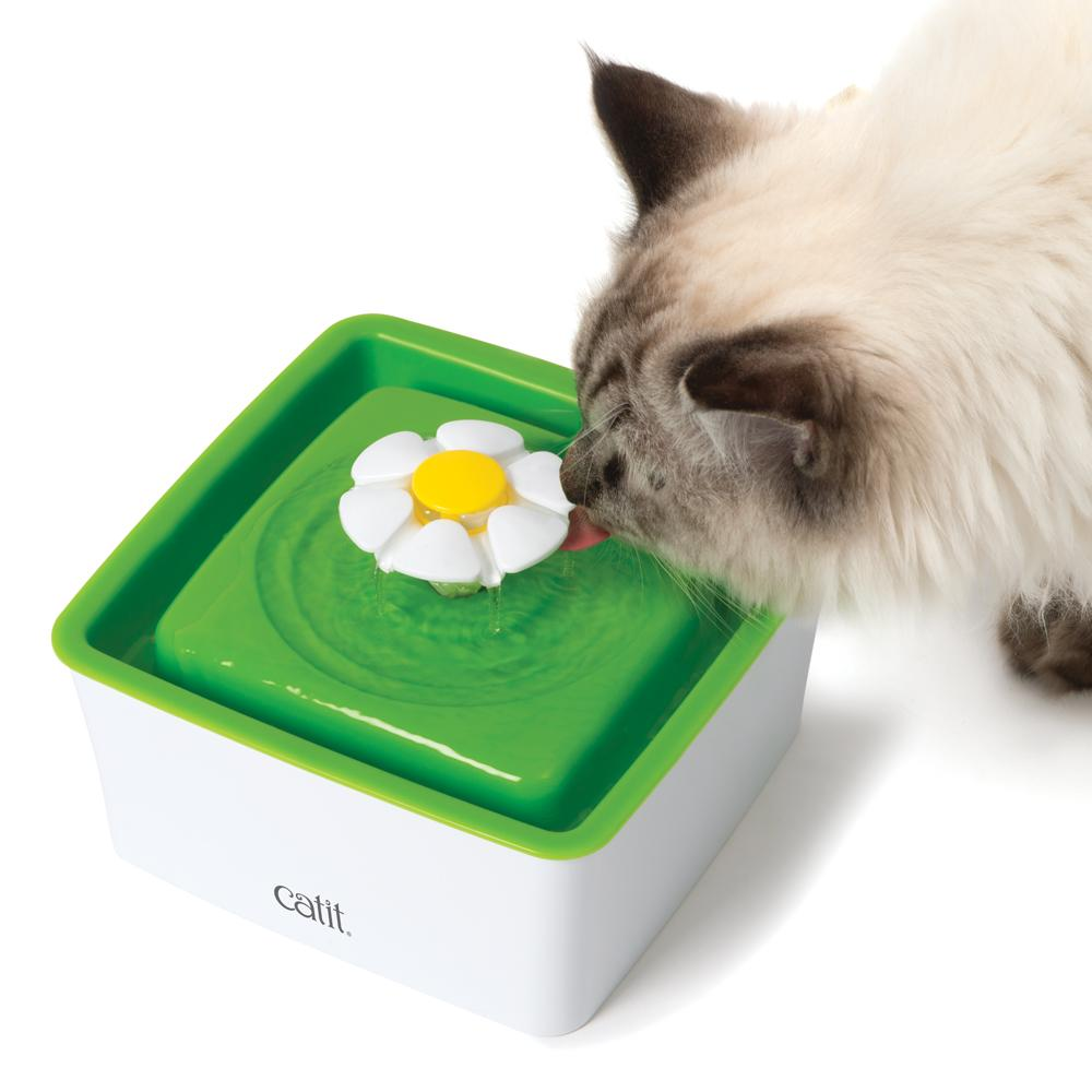 Mini Cat Water Fountain - 1.5L - Flower by Catit
