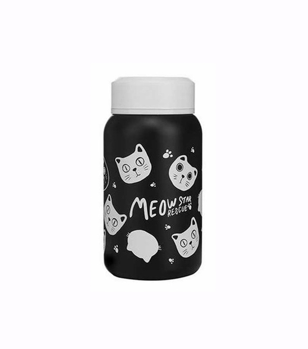 MEOW Star Rescue Fashion Stainless Steel Thermos Water Bottle