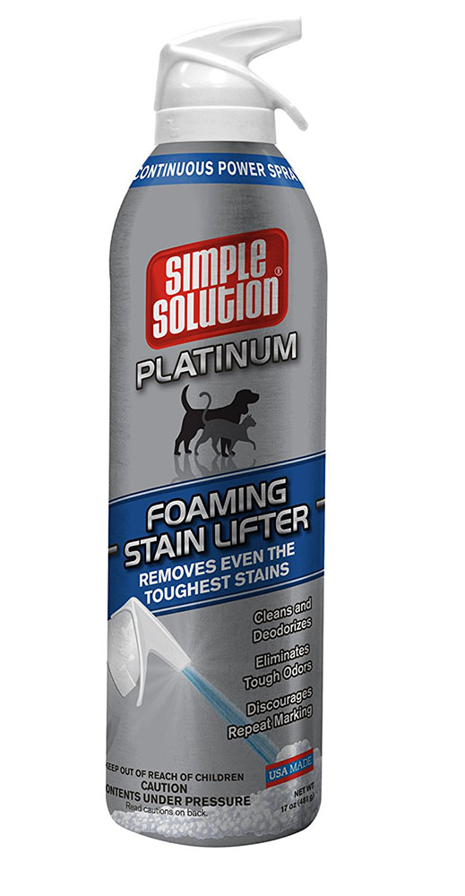 Foaming Stain Lifter for Cats