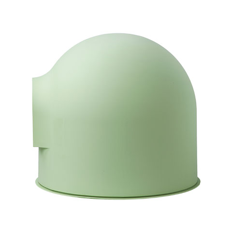 green pidan igloo cat litter box