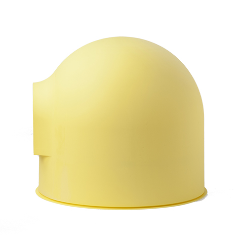 yellow pidan igloo cat litter box
