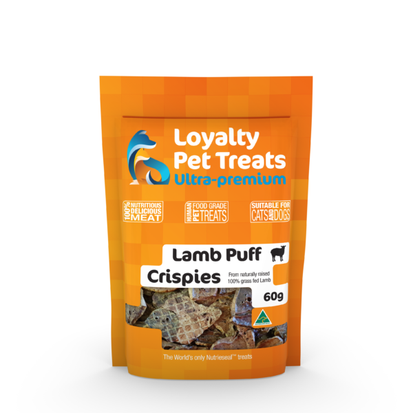 Lamb Puff Crispies - 60g