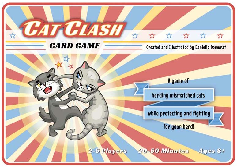 Cat Clash Card Game