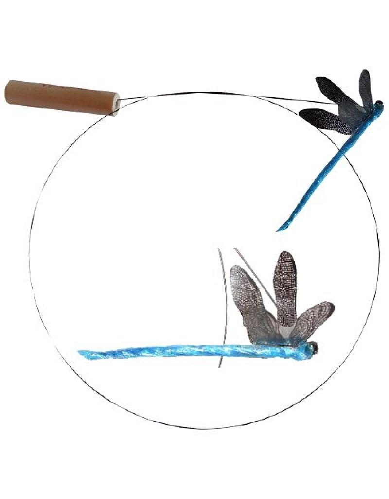 Dragonfly Cat Toy - The ultimate cat teaser