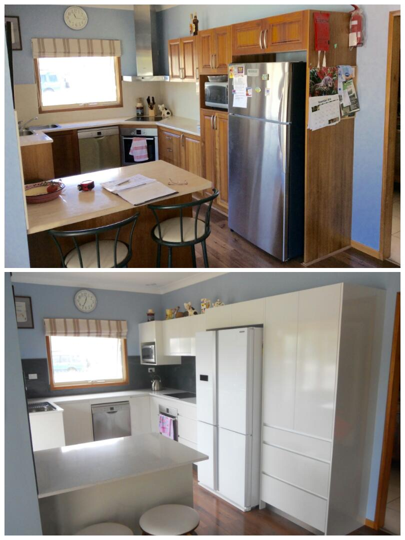 Before and After Kitchen Renovations| Mikes Kitchens